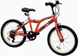 Bicicleta copii DHS 2021 Tiger - baieti 6-8 ani