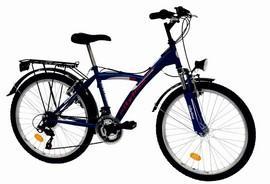 Bicicleta TREKKING 2431 Courage 18 viteze baieti 8-12 ani