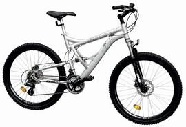 Bicicleta mountain bike full suspension DHS 2646 Royal model 2012