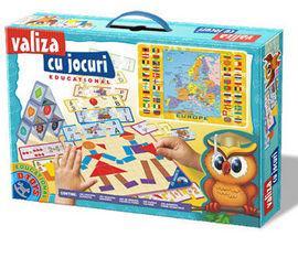 D Toys - Valiza cu jocuri - Educational