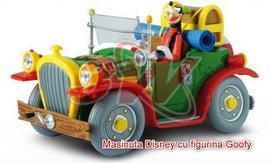 Masinuta Disney cu figurine, scara 1:24