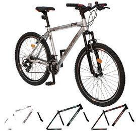 Bicicleta mountain bike hardtail DHS 2663 Silver