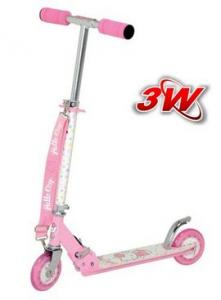 Trotineta pliabila pentru copii Hello Kitty 3390IN