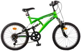 Bicicleta mountain bike full suspension DHS 2042 Climber model 2013 copii 6-8 ani