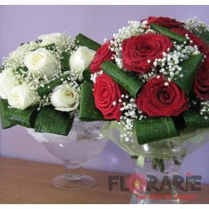 Buchet trandafiri mireasa nasa