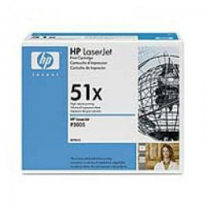 Cartus HPX LaserJet Q7551X Black Print Cartridge