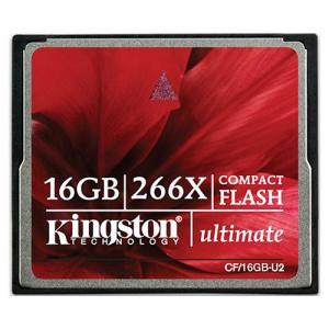 Card memorie Kingston Compact Flash Ultimate 266x, 16GB