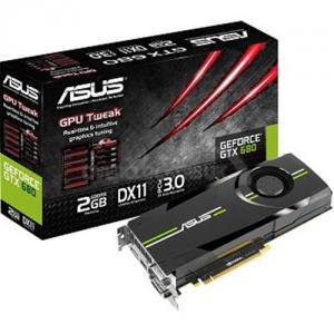 Placa video Asus nVidia GeForce GTX680, 2048MB, GDDR5, 256bit, HDMI, DVI-I, PCI-E