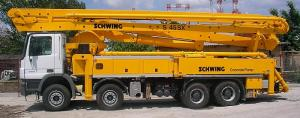 Pompa beton Schwing S45 SX / Mercedes-Benz Actros 4141