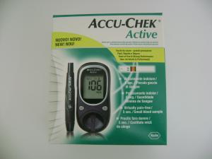 Accu chek active glucometru