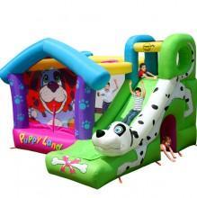HAPPY HOP - Spatiu de joaca gonflabil Puppy Land