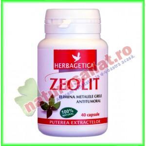 Zeolit 40 capsule - Herbagetica