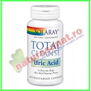 Total Cleanse Uric Acid 60 capsule vegetale - Solaray