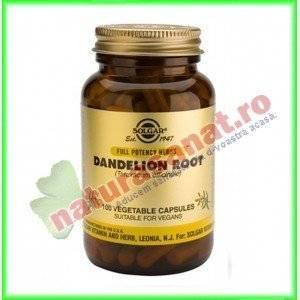Dandelion (radacina de papadie) 380mg 100 capsule - Solgar