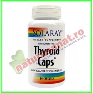 Thyroid Caps 60 capsule - Solaray (Secom)