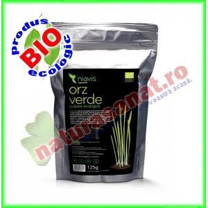 Orz Verde Pulbere Organica BIO 125 g - Niavis