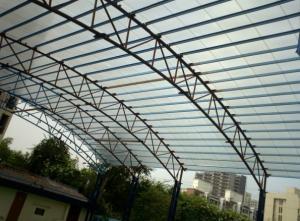 Copertina / acoperisuri din policarbonat fier forjat / aluminiu