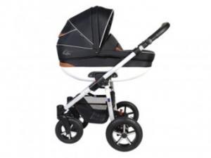 Carucior Pentru copii 3 in 1 - Baby Boat Black