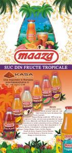 Sucuri naturale din fructe tropicale