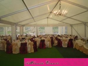 Huse scaun rosu nunti