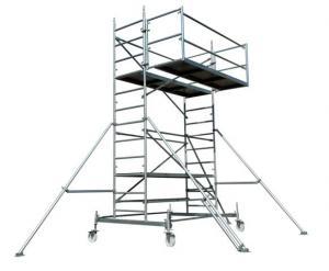 Schela mobila zincata  pentru constructii