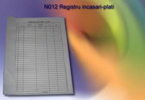 Registru incasari plati