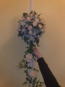 Trandafiri mini roze