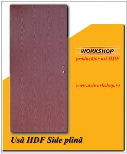 Usa HDF de interior Side plina