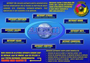 AUTOSOFT-Programe software pentru societati comerciale/ bugetare/ fundatii
