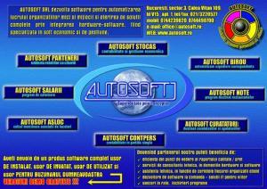 AUTOSOFT CONTPERS-PROGRAM de CONTABILITATE IN PARTIDA SIMPLA