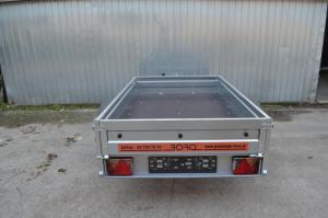 Remorca auto 750 kg (dimensiuni utile 204X121 cm )