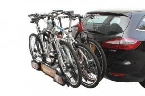 Suport 3 Biciclete Peruzzo Parma E-Bike cu prindere pe carligul de remorcare
