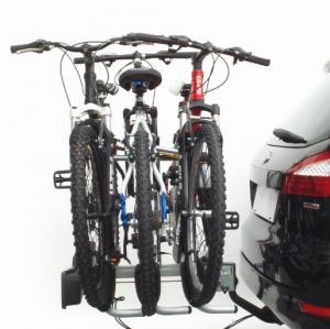 Suport 3 Biciclete Peruzzo Siena cu prindere pe carligul de remorcare