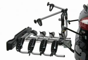 Suport 4 Biciclete Peruzzo Siena cu prindere pe carligul de remorcare
