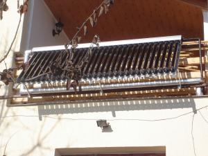 Sistem solar de balcon