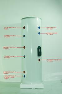 Boiler trivalent inox 200 litri