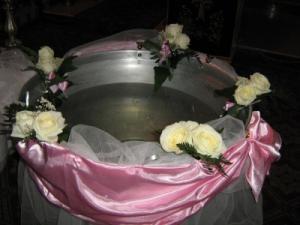 Aranjamente cristelnite botez