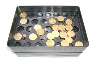 Matrita injectie numaratoare monede