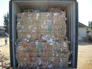 Reciclare deseuri carton