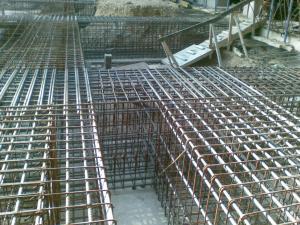 Otel beton beton