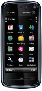 Nokia 5800 XpressMusic Red + Garmin ( Harta Europei )
