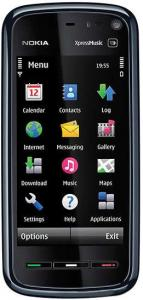 Nokia 5800 XpressMusic Blue + Suport auto