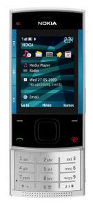Nokia x3 blue on silver