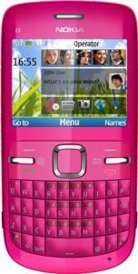 Nokia c3 hot pink
