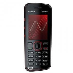 Nokia 5220 red xpressmusic
