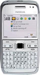 Nokia e72 white