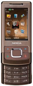 Nokia 6500 Slide Brown