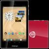 PRESTIGIO MultiPad Color 7.0 3G (7.0'' IPS,1280x800,16GB,Android 4.2,QC1.3GHz,1GB,3500mAh,2MP,BT,NFC,GPS,FM,Phone,3G,Pouch) Red Retail