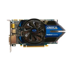 """AMD Radeon HD6770 Vapor-X PCI-EX2.0 1024MB GDDR5 128 bit,   860/4800 MHz,  DVI/HDMI/Display Port,   Dual"