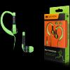 Canyon sport earphones, over-ear fixation, inline